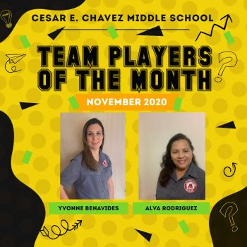 Team Players of the Month