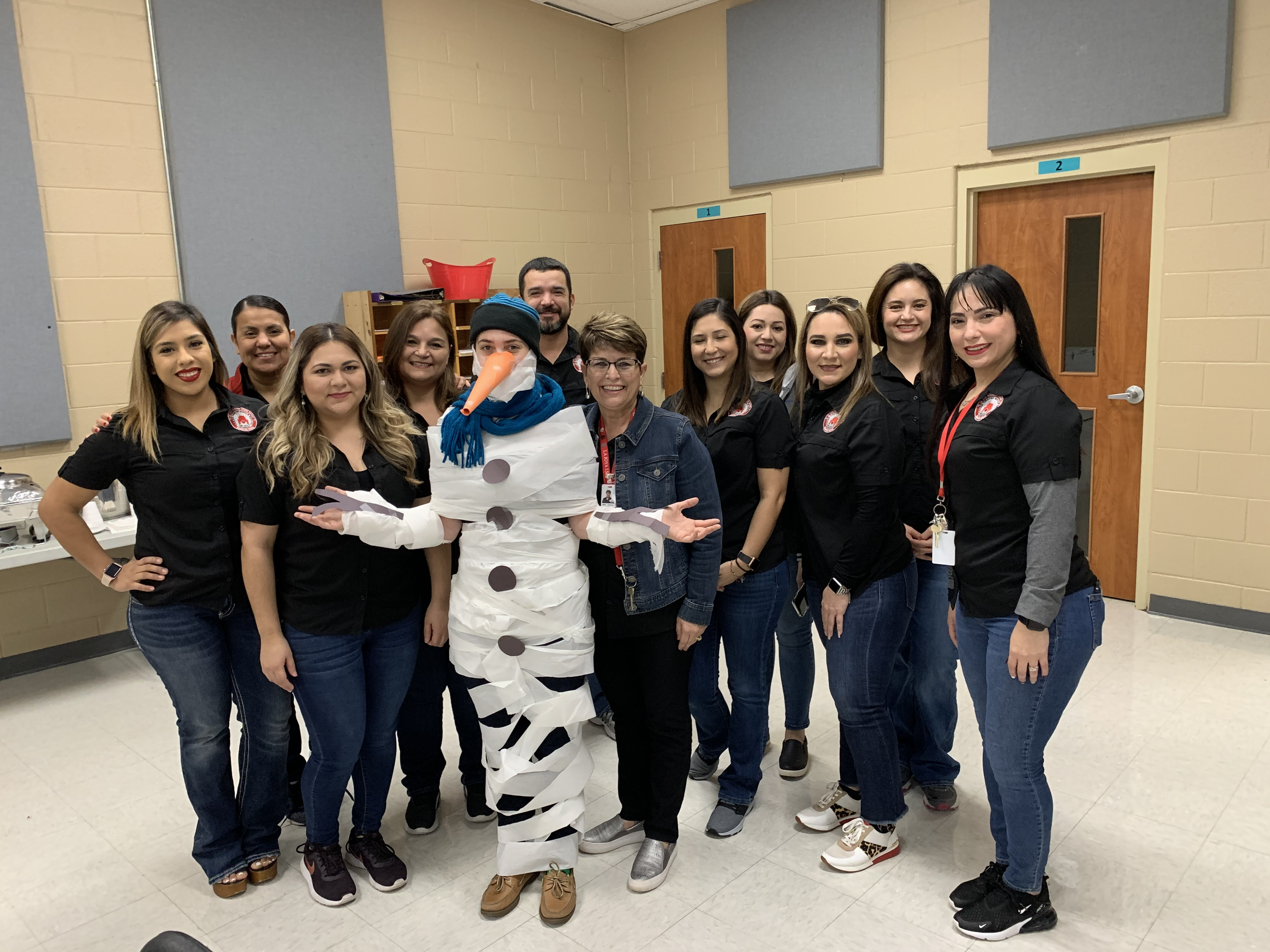 ELA and Writing teachers featuring Snow-woman Ms. Esquivel