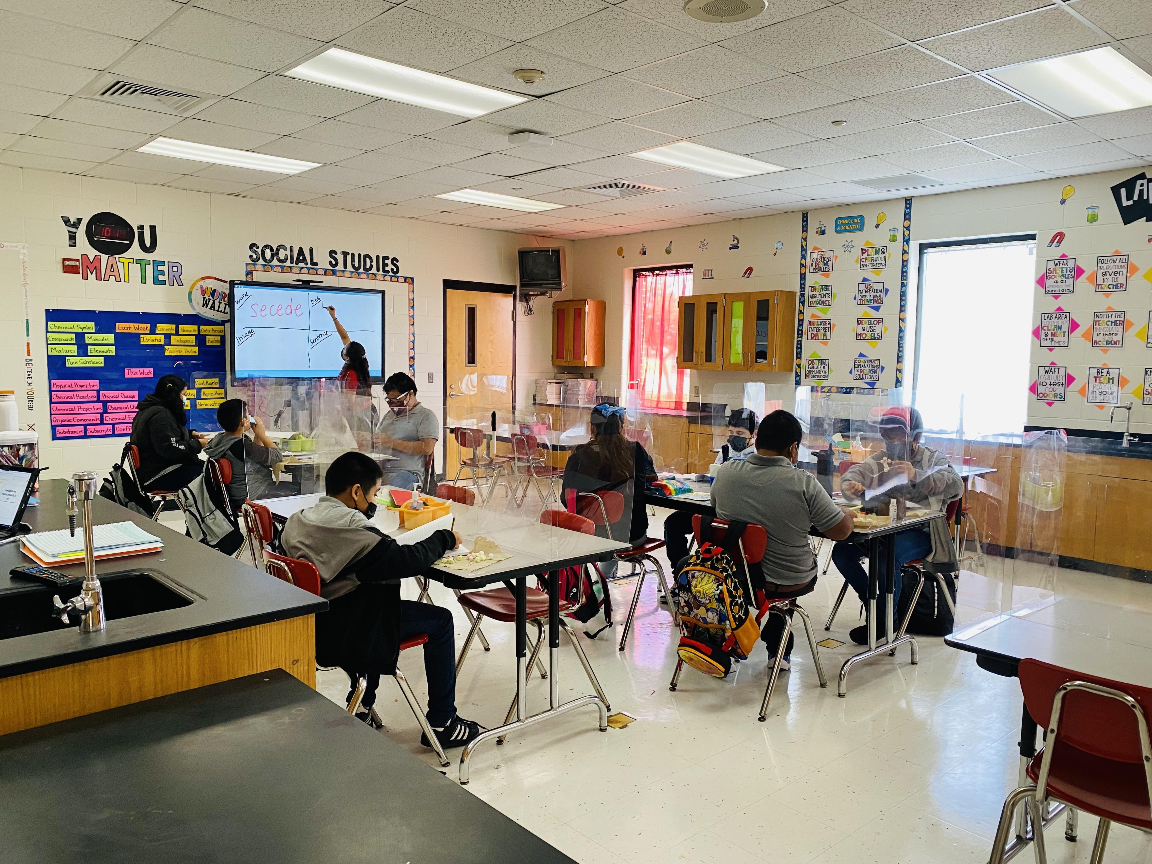 Ms. Anzaldua's Classroom