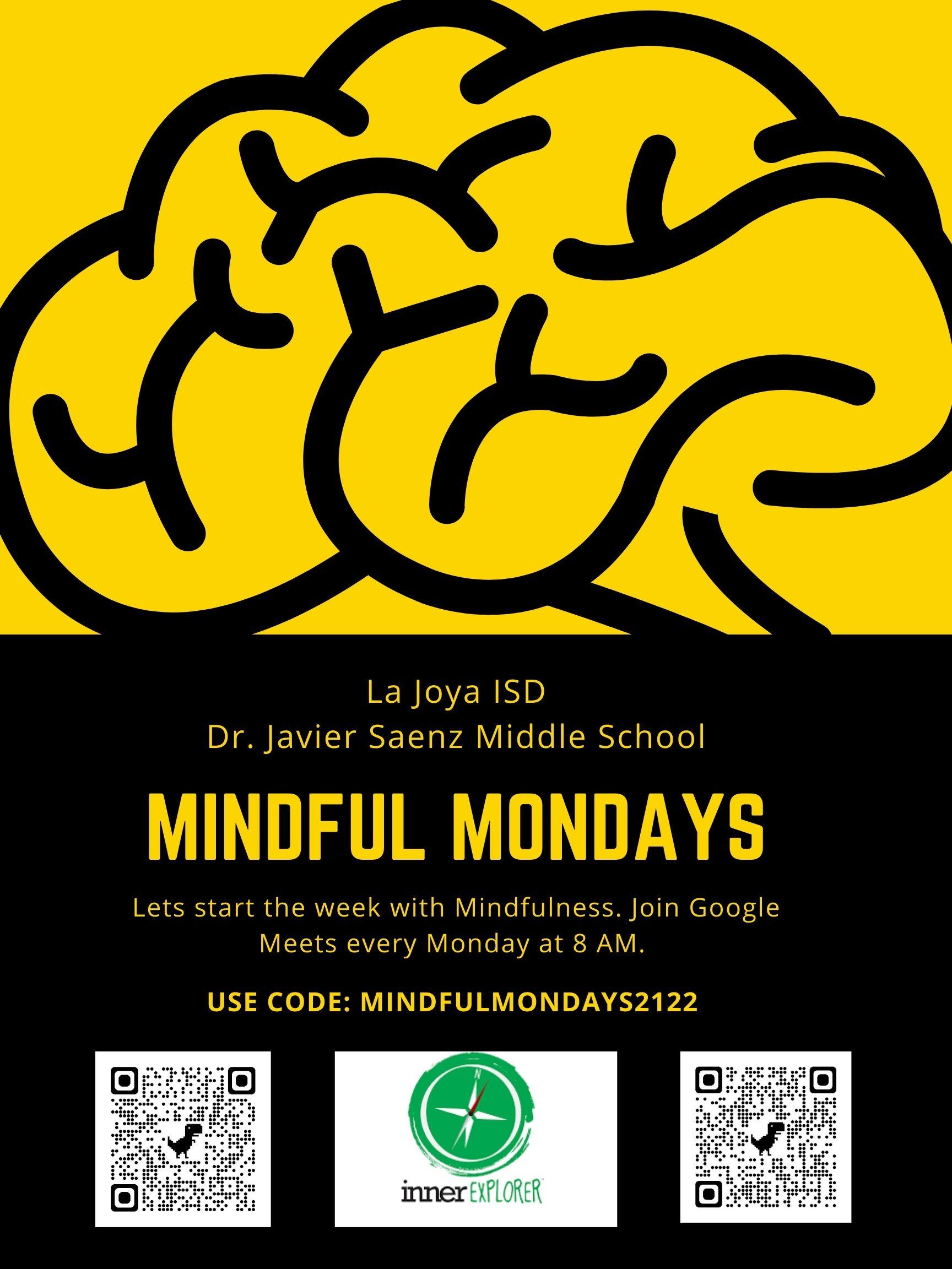 Mindful Mondays Inner Explorer