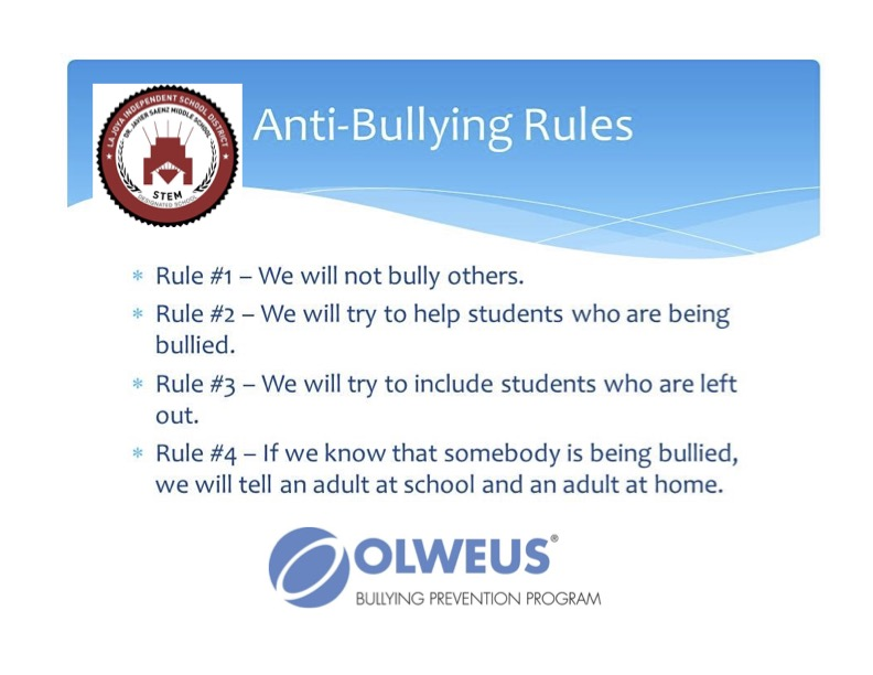 Olweus Rules