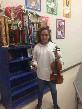 Student Hannah Garcia, from 7th grade!