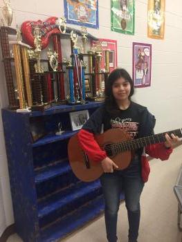 Student Teylani Cortez, 7th Grade!