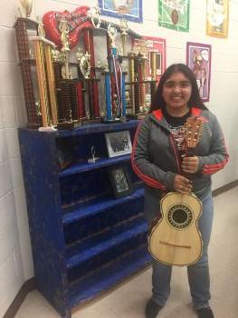 Student Valeria Lopez, 8th Grade!
