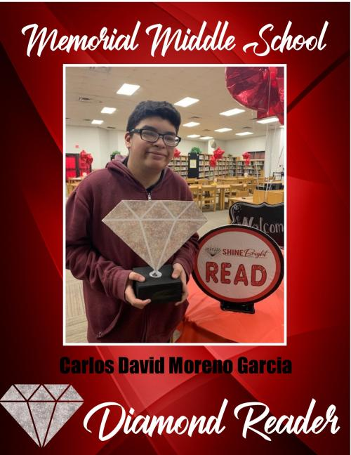 David Moreno Diamond Reader