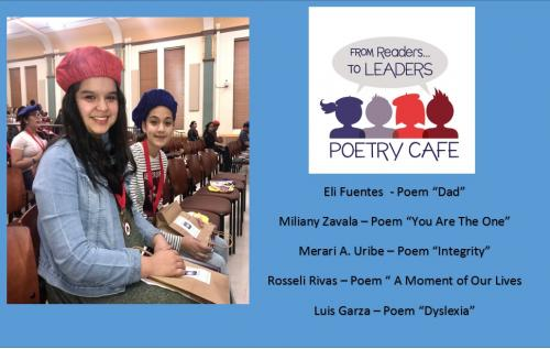 Poetry Cafe Participants
