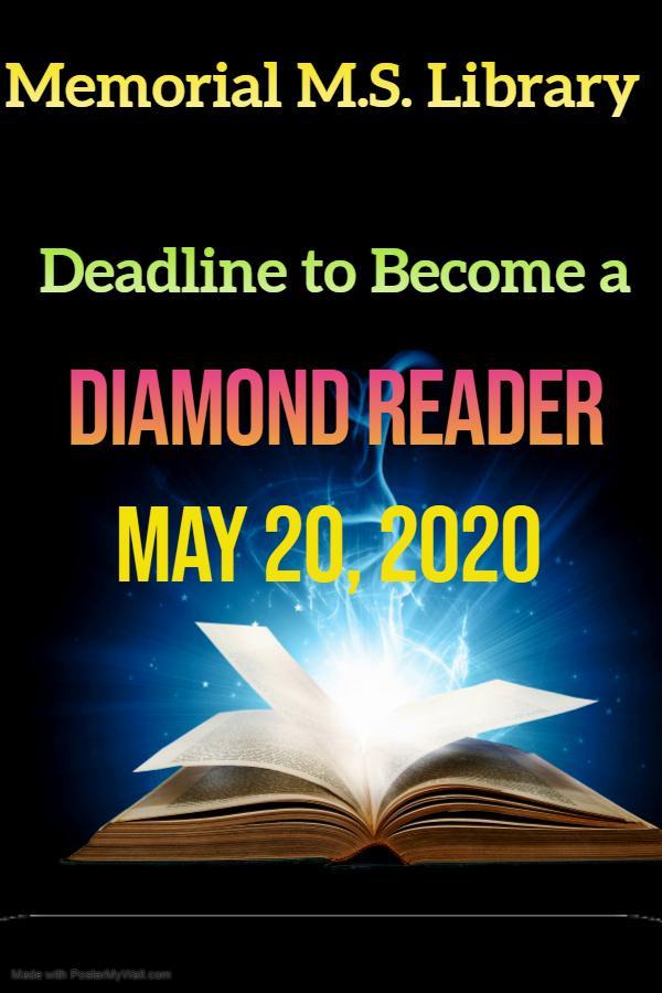 Deadline For Diamond Reader