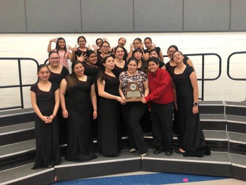 Choir Sweepstakes Trophy