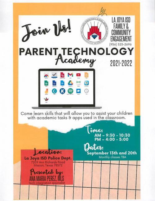 PARENT TECHNOLOGY ACADEMY