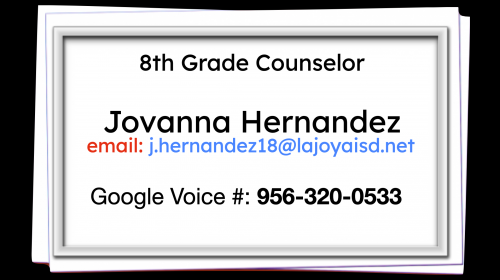 counselor 8th grade