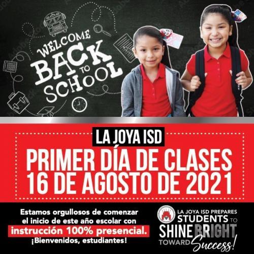 Primer Dia de Escuela 2021