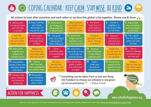 counselor calendar