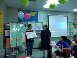 Ms. Oliver Receives the Educational Excellence Foundation Grant!!!