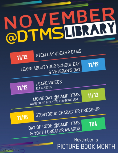 November Activities Revised