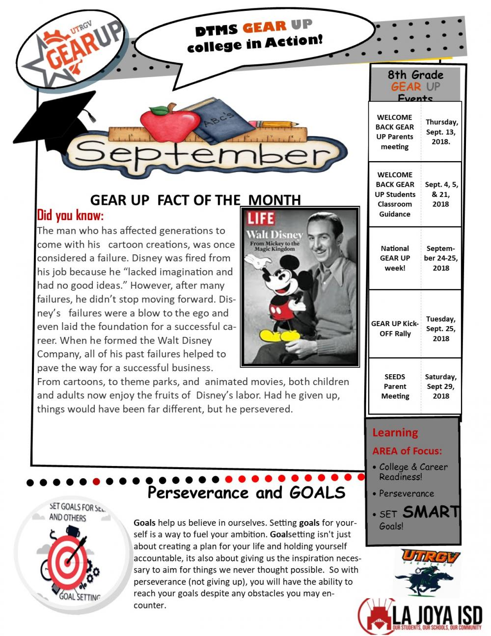 GearUp September Newsletter