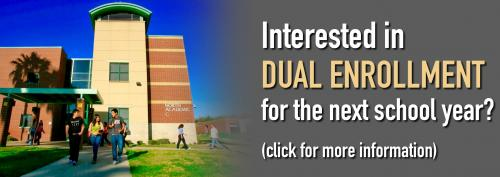 Interested in Dual Enrollment for next year?
