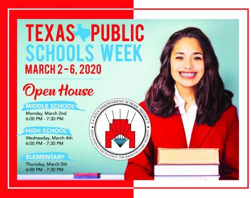 TX Public Schools Week