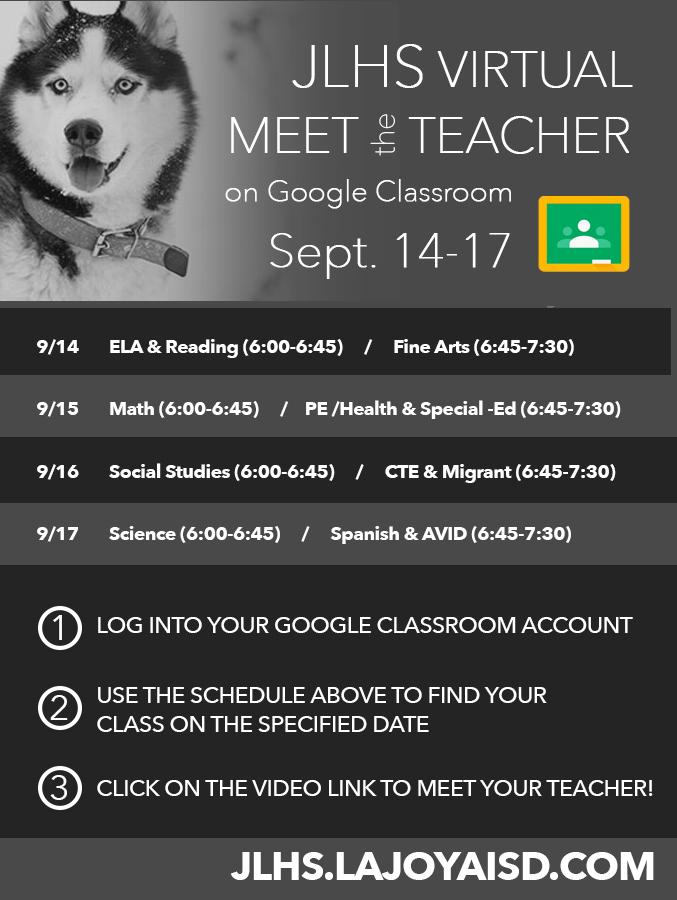 2020 Meet the Teacher