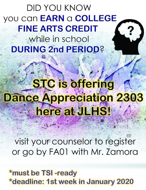 Dance Dual Enrollment