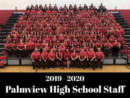 2019-2020 PHS Staff