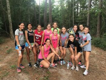 PHS Female Cross Country Team