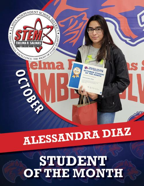 STEM Student of the Month - October 2021