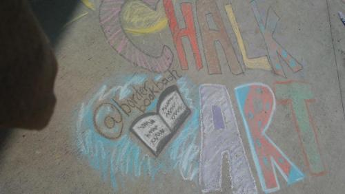 Chalk art competition