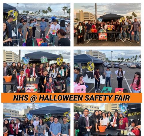NHS Members at Halloween Safety Fair 2019