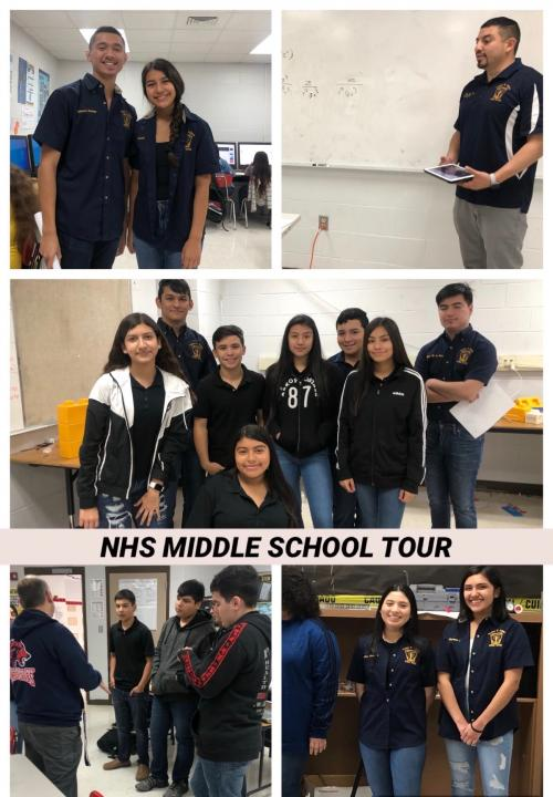 NHS Middle School Tour