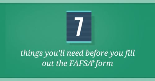 19-20 FAFSA Info