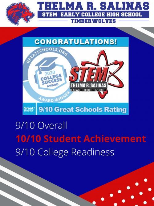 2020 Great Schools Award