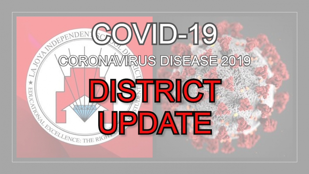 COVID-19 District Update Banner