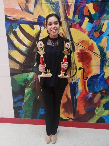 Fernanda Cantú placed first in both prose and poetry.