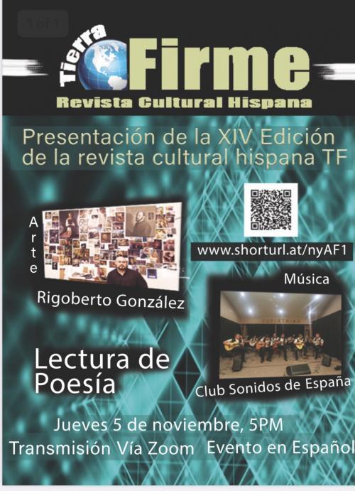 Presentation of Tierra Firme Magazine