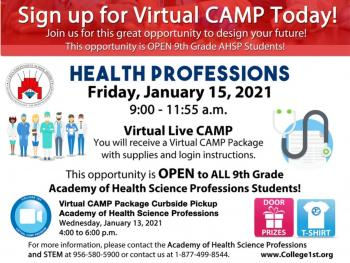 VIRTUAL COLLEGE 1ST CAMP