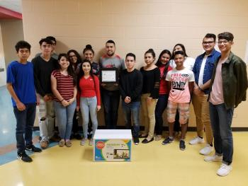 AHSP-STEM Science National Honor Society recognizes Mr. Rodriguez