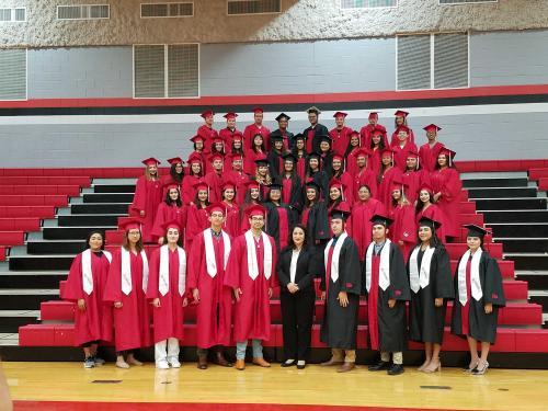 1st graduating class for AHSP & STEM