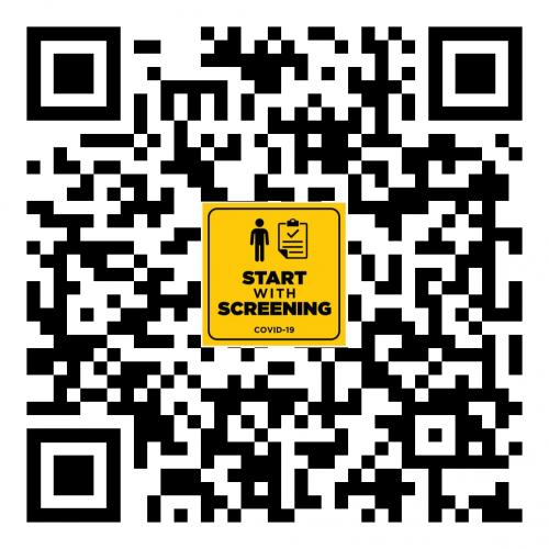 QR Code COVID-19 Wellness Screener