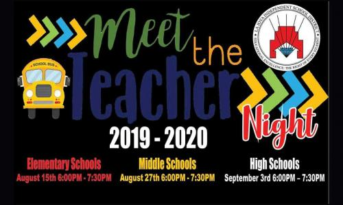 AHSP & STEM invites you to join us at Meet the Teacher Night for the 2019-2020 School Year! September 3rd, 2019 @ 6:00 - 7:30 pm