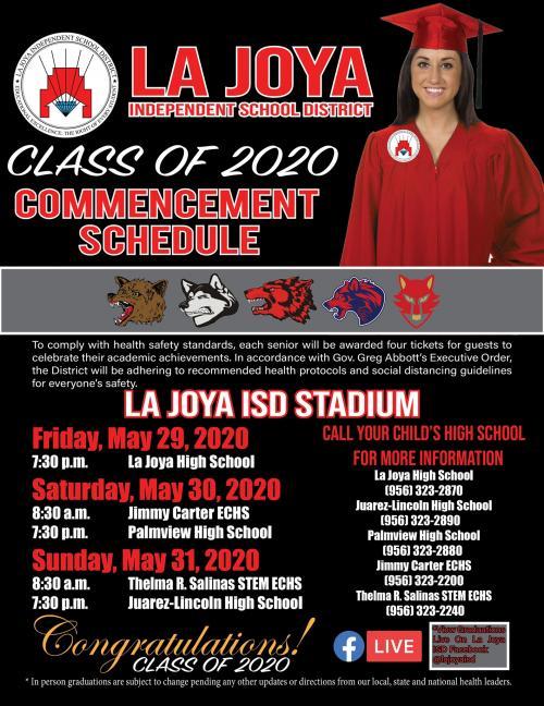 Graduations 2020
