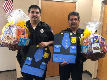 Celebrating our police officer and security