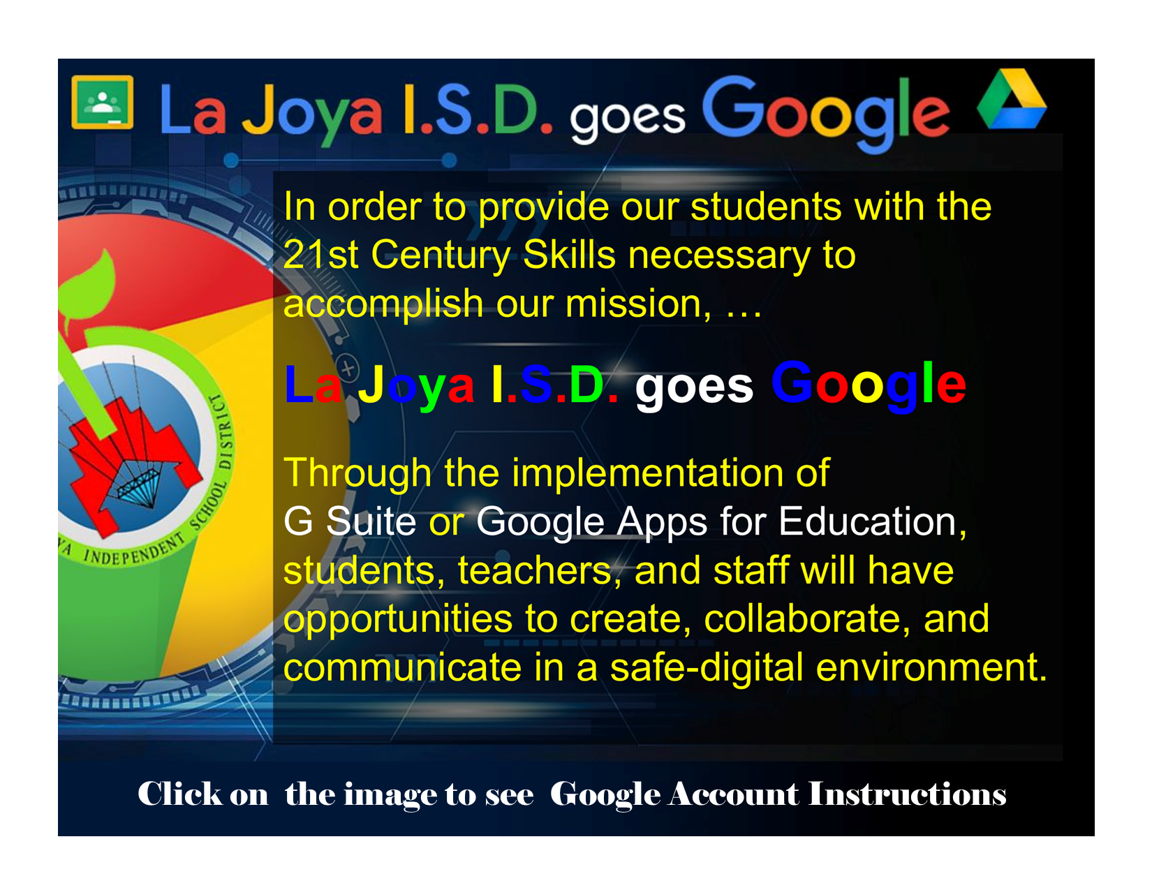 La Joya goes Google