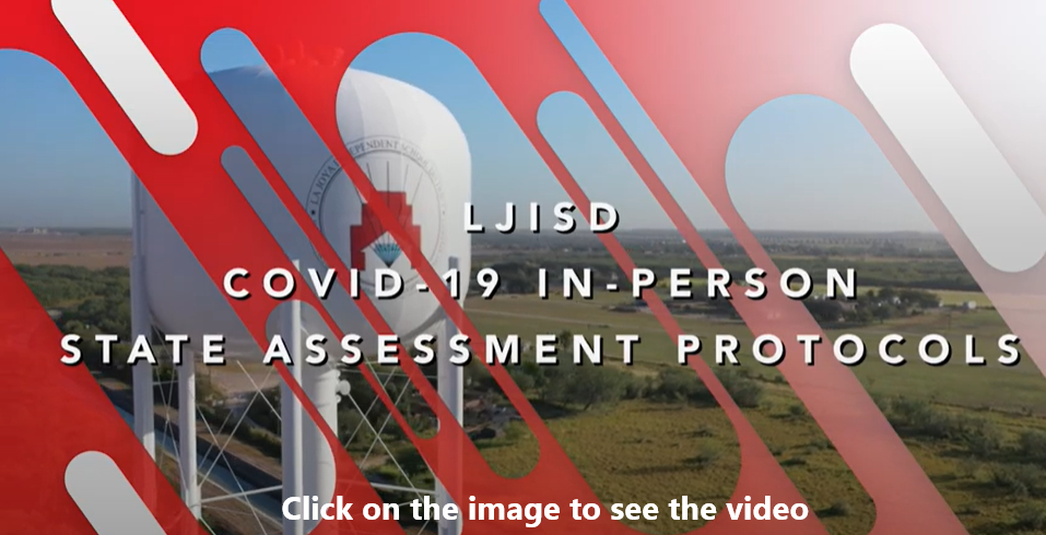 COVID 19 in person state assessment protocol click on image to see video