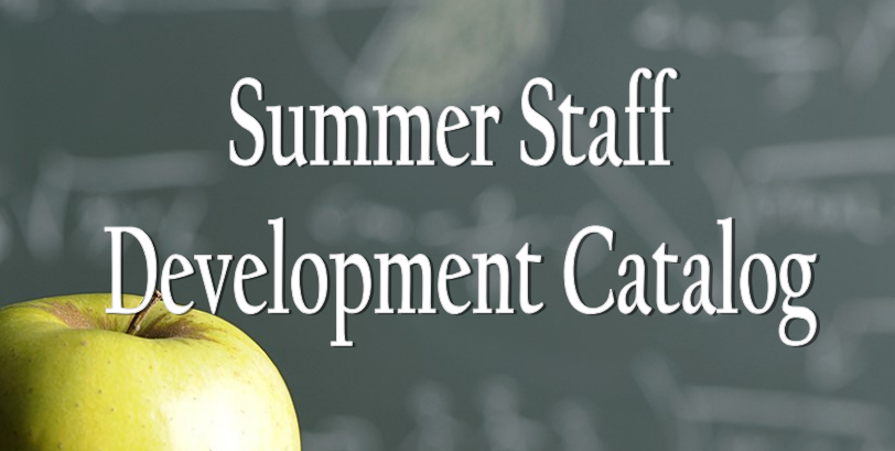 Staff Development Catalog