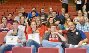 2017 Chiefs Speech and Debate Team are State Runners-Up, and winners of an Academic Award for their 3.88 combined GPA!