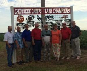 Cherokee State Championship Coaches