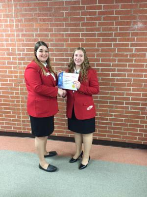 2016-2017 FCCLA STAR Award Winners