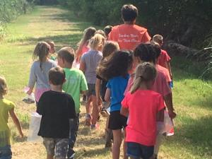 Kindergarten Field Trip to Nature Center  2017-2018 School Year