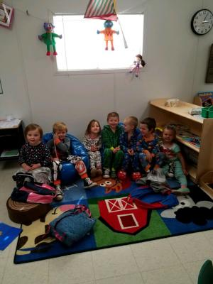 Little Chiefs PJ Party 2017-2018 School Year