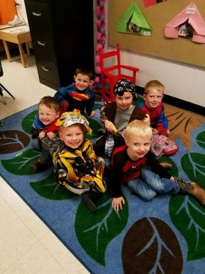 Little Chiefs Dress up Day 2017-2018 School Year